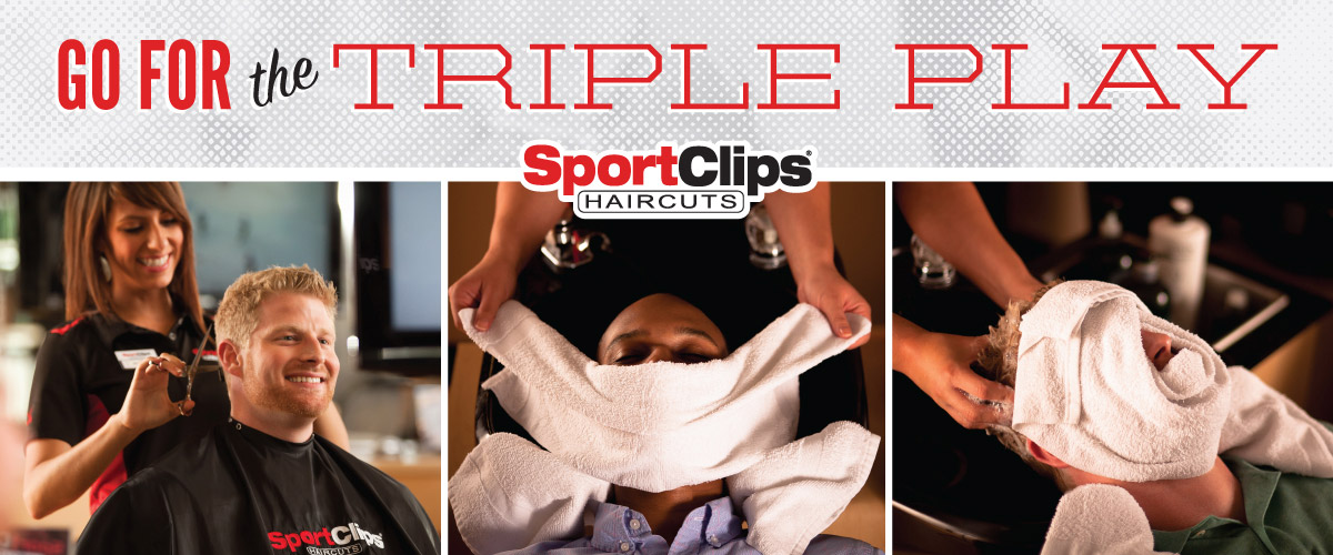 The Sport Clips Haircuts of Allen Triple Play